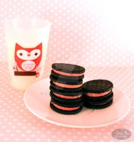 Berry Blast Oreos by chat-noir