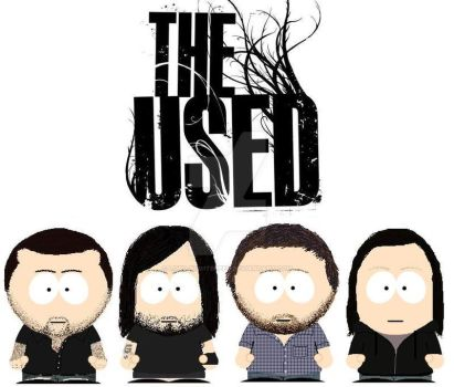 South Park The Used by lord-nightbreed