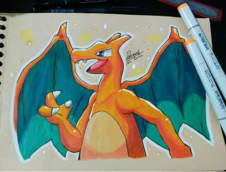 Charizard the Fire Pokemon! by Ppoint555