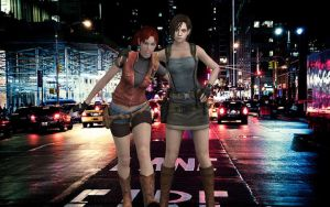 Raccoon City Streets by dnxpunk