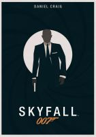 SKYFALL - Dark Teal by JSWoodhams