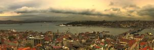 Istanbul from Galata Tower by WhiteWay