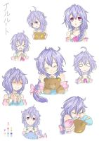 Faces Of Plutia by Yurax-Mae