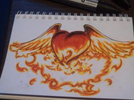 Heart like Phoenix by Valty77