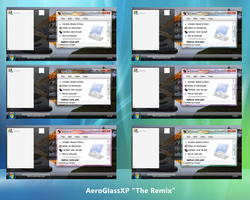 AeroGlassXP V3 The Remix by Ironjer
