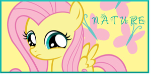 Filly FlutterShy signature by AliceHumanSacrifice0