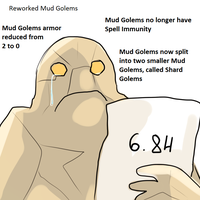 6.84 Mud Golem by keterok