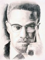Malcolm X by Pageless