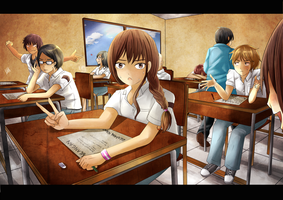 Classroom by GredellElle