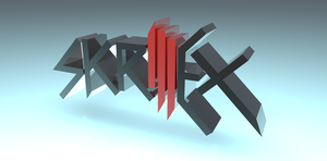 Skrillex - Cinema 4D by SpinninMan