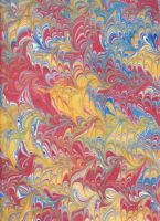 Paper Marbling 3 by approachableart