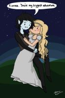 Fionna, you're my biggest adventure by Uniblood
