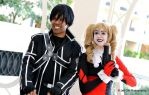 Kirito and Harley by R-Legend