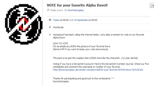 VOTE for your favorite DAVE STRIDER by SamhainKWC