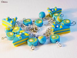 Bracelet: Sea mood by OrionaJewelry