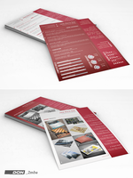 Modern resume template by don2mba