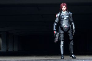 Commander Shepard: Fight or die by LittleBlondeGoth