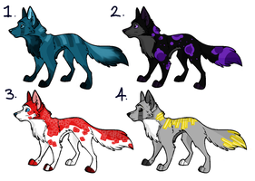 Cheap Canine Adopts! -OPEN- by TheBigBlob