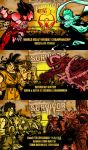 WWE Survivor Series Anime Match Card by gonzalossj3