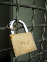 padlocks of love 42 by Meltys-stock