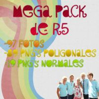 Mega Pack PNG de R5 by CrayolaWasHere