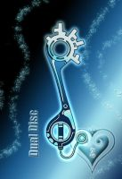 Keyblade - Dual Disc - by WeapondesignerDawe