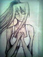 Winry from FMA (sketch) by TheBlackSpiritOfMine