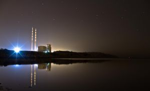 Poolbeg Powerstation by BMC-Photography