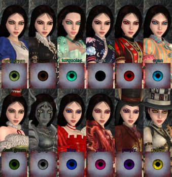 alice madness returns new color eyes by jomic-95