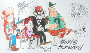 Gravity Falls : Movie Forward by komi114
