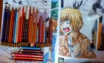 coloured pencils by DoreiShounen