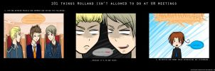 Hetalia: 101 things - 1 and 2 by voicelesss