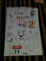 The Nut Job 2 poster (made myself) by ChipmunkSailor