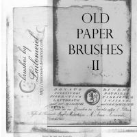 Old Paper Brushes 2 by lailomeiel