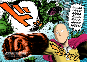 OnePunch Man - Chapter 1 (Coloured) by Roboartitect