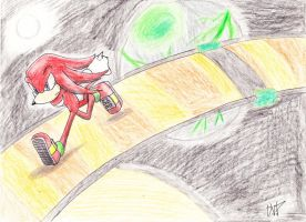 CE: knuckles in space by payero01