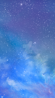 ios 7 galaxy wallpaper by WallforAll