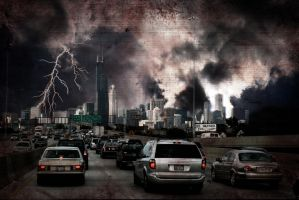 Chicago Greets the Apocalypse by jonathoncomfortreed