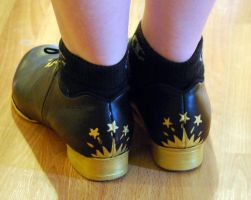 Starry Dance Shoes - Heels by Goldenspring