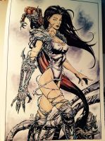 Witchblade copic by devgear