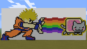 Minecraft Pixel Art by Josh80980