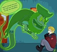 Aph- Alfred Scaredypants by TiffyXD