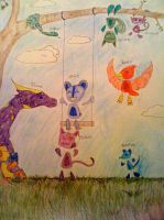 Little Creatures by SighVerbally