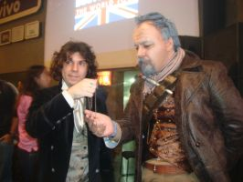 Getting the TARDIS key from the 8th Doctor. by jeffduck