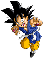 Dragon Ball GT =Son Goku= by Krizeii