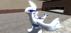 Lugia and Rarity by sp19047