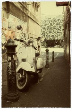 vintage scooter by danielh85