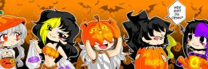 Halloween Meeries by ChosenVowels