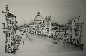 Grand Canal, Venice by rojobe