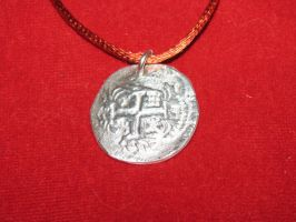 Coin pendant by tk8247